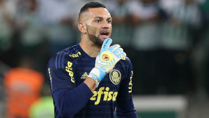 Após pausa de 15 dias, Weverton promete Palmeiras mais forte