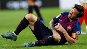 Messi fratura braço em vitória do Barcelona e ficará afastado dos gramados por quase um mês
