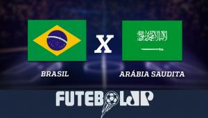 BrasilxArábia Saudita: acompanhe o jogo ao vivo na Jovem Pan