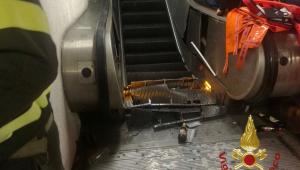 Acidente em escada rolante deixa vários torcedores feridos antes de partida da Liga dos Campeões