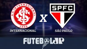 InternacionalxSão Paulo: acompanhe o jogo ao vivo na Jovem Pan