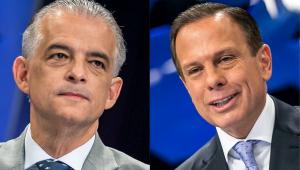 Em debate morno, Doria e França evitam brigas que travam na campanha de TV e nas redes sociais
