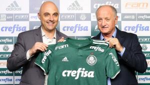 Presidente do Palmeiras relembra troca Roger-Felipão: 'Não estávamos com espírito de campeão'