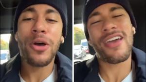 'Ela é uma boa menina!' Neymar entra na zoeira e imita Vinicius Júnior cantando