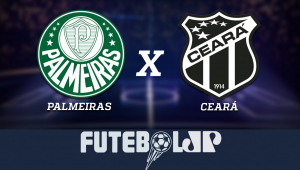 PalmeirasxCeará: acompanhe o jogo ao vivo na Jovem Pan