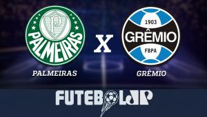 Palmeiras xGrêmio: acompanhe o jogo ao vivo na Jovem Pan