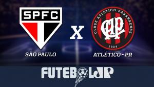 São PauloxAtlético-PR: acompanhe o jogo ao vivo na Jovem Pan