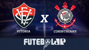 Vitóriax Corinthians: acompanhe o jogo ao vivo na Jovem Pan