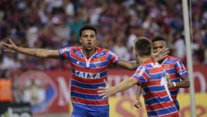 Emprestado ao Fortaleza, Gustagol marcou mais que todos os atacantes do Corinthians juntos