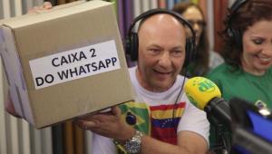 Luciano Hang sobre acusações: Com boas sátiras, 'WhatsApp dispara sozinho'