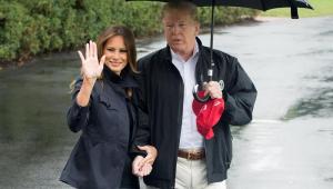 Avião em que Melania Trump viajava faz pouso forçado nos EUA