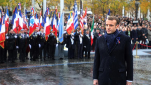 Joseval Peixoto: Macron faz discurso veemente sobre legado da I Guerra Mundial