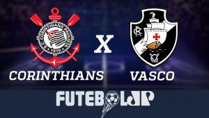 CorinthiansxVasco: acompanhe o jogo ao vivo na Jovem Pan