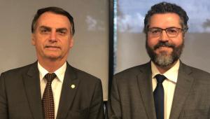 Ministério das Relações Exteriores será comandado por Ernesto Araújo