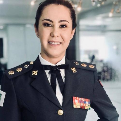 Márcia Amarílio da Cunha Silva, Tenente-coronel do Corpo de Bombeiros do Distrito Federal e especialista em segurança pública
