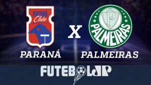 ParanáxPalmeiras: acompanhe o jogo ao vivo na Jovem Pan