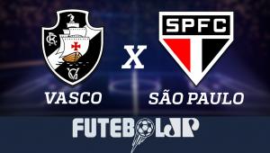 VascoxSão Paulo: acompanhe o jogo ao vivo na Jovem Pan