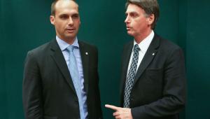 Bolsonaro quer filho como embaixador