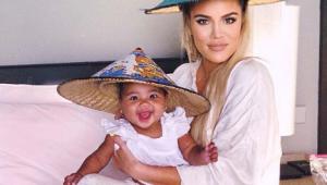 Khloé Kardashian revela dificuldades em amamentar a filha: 'Estresse'