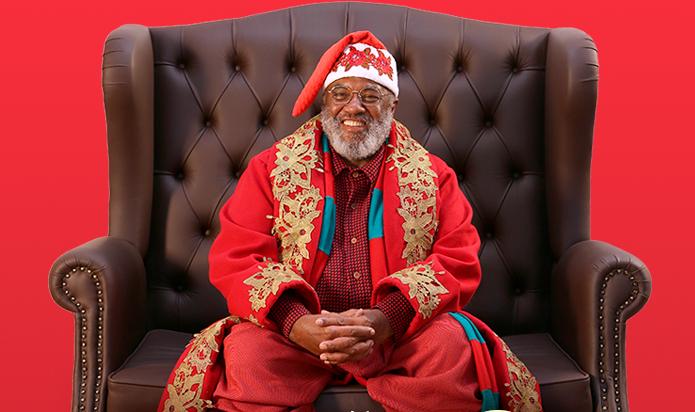 Shopping anuncia Papai Noel negro e faz sucesso nas redes sociais