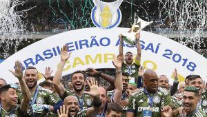 CBF atualiza ranking de clubes e Palmeiras aparece na liderança; São Paulo é apenas o 12º