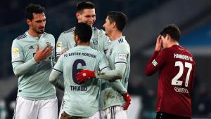 Em jogo de golaços, Bayern de Munique faz 4 a 0 no Hannover