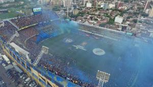 River Plate terá escolta com helicópteros, motos e drones à Bombonera