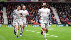 Salah dá show e Liverpool goleia no Campeonato Inglês