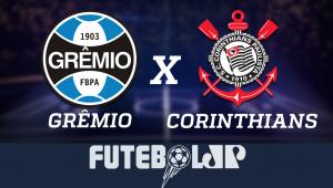 GrêmioxCorinthians: acompanhe o jogo ao vivo na Jovem Pan