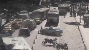 Idosa morre e outra fica ferida após atropelamento em calçada no centro do RJ
