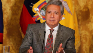 O presidente do Equador, Lenín Moreno