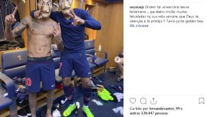 Neymar erra aniversário de Mbappé e faz homenagem no Instagram