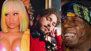 Nicki Minaj, Post Malone e Lil Wayne estão na trilha de novo 'Homem-Aranha'