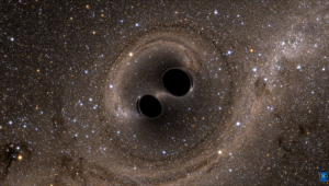 Cientistas detectaram as ondas gravitacionais que resultaram na maior colisão de buracos negros já observada