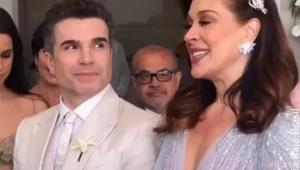 Claudia Raia e Jarbas Homem de Mello se casam no civil