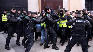 'Coletes Amarelos': 59 pessoas são presas em Paris em mais um sábado de protestos