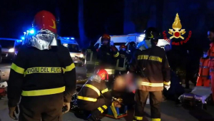 Seis pessoas morreram pisoteadas após confusão em show na Itália