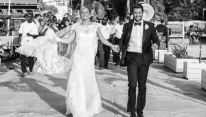 Emily VanCamp e Josh Bowman, de 'Revenge', se casam nas Bahamas