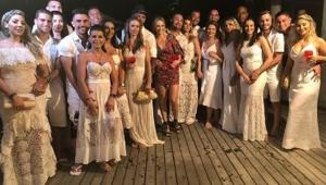 Casamento de Alexandre Mattos destaca união dos jogadores do Palmeiras