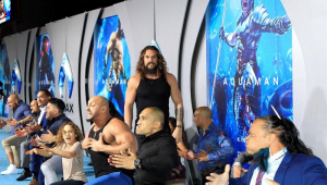 Jason Momoa faz a dança haka em première de 'Aquaman'; assista