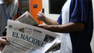 O jornal venezuelano El Nacional