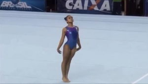 Revelação da ginástica artística brasileira morre aos 17 anos
