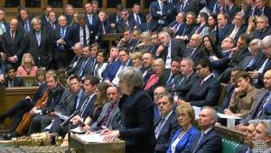 May passará por voto de desconfiança do parlamento após acordo para o Brexit ser rejeitado