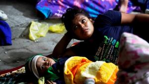 Novo grupo de imigrantes sai de Honduras rumo aos Estados Unidos