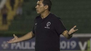 Carille vê queda de rendimento do Corinthians no 2º tempo: 'Baixamos a guarda'