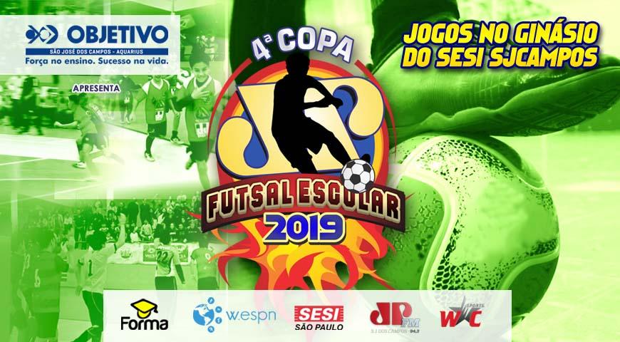 Já está rolando o maior campeonato de futsal estudantil da região.