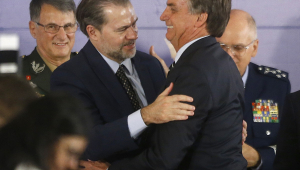 Bolsonaro fala em harmonia com Toffoli