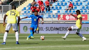 Brasil joga mal e só empata com Colômbia no Sul-Americano Sub-20