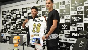 Apresentado pelo Santos, Felipe Aguilar fala em conquistar Copa Sul-Americana