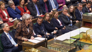 Theresa May descarta realizar novo referendo sobre o Brexit